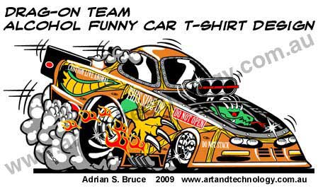 Page:5 Car Caricatures, Logos, Cartoons and Business Graphics
