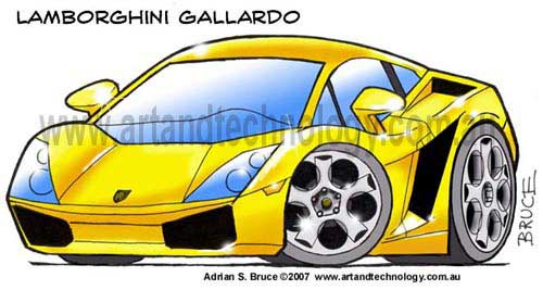 Page 5 Car Caricatures Logos Cartoons And Business Graphics