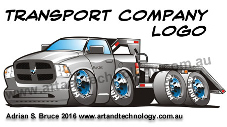 car caricatures logos cartoons and business graphics